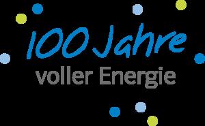 Logo 100 Jahre voller Energie